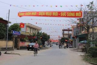 Huyện Kiến Xương, tỉnh Thái Bình đạt chuẩn nông thôn mới