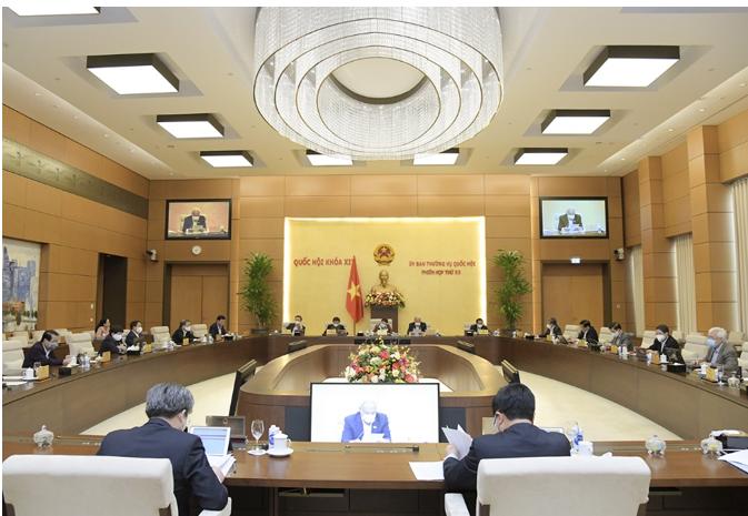 Phiên họp thứ 55 của Ủy ban Thường vụ Quốc hội với nhiều nội dung quan trọng