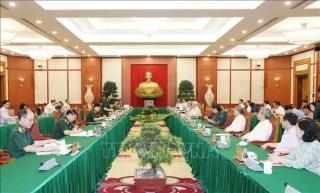 Bộ Chính trị cho ý kiến chuẩn bị đại hội 6 Đảng bộ trực thuộc Trung ương