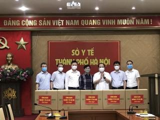 Hà Nội tặng 3000 túi xông hỗ trợ phòng chống COVID-19 cho tỉnh Đồng Nai