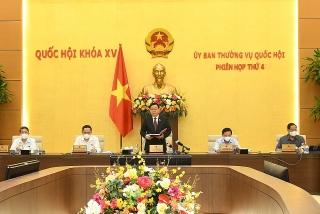 Ủy ban Thường vụ Quốc hội khai mạc phiên họp thứ 4