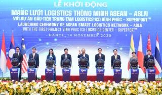 Thủ tướng Việt Nam – Singapore khởi động Mạng lưới Logistics thông minh ASEAN