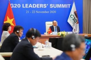 Thủ tướng bắt đầu dự Hội nghị Thượng đỉnh G20