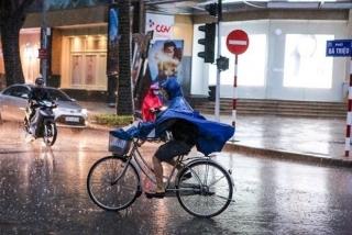 Ảnh hưởng của không khí lạnh, các khu vực trên cả nước đều có mưa