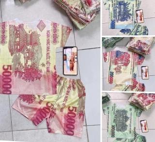 In ấn, kinh doanh trang phục hình tiền Việt Nam có vi phạm pháp luật?