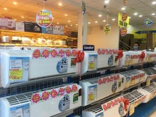 Thị trường máy lạnh bắt đầu vào mùa