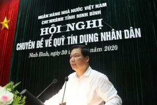 Hệ thống QTDND tỉnh Ninh Bình đẩy mạnh củng cố hoạt động vì lợi ích người dân