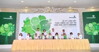 Vietcombank nâng cao giá trị văn hóa bằng hành động cụ thể