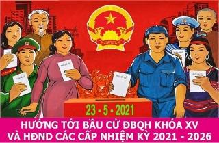 Phát động đợt thi đua thực hiện tốt cuộc bầu cử ĐBQH khóa XV và đại biểu HĐND các cấp nhiệm kỳ 2021-2026