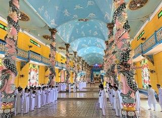 Đừng bỏ quên những lễ hội đặc sắc ở 'đất thánh' Tây Ninh