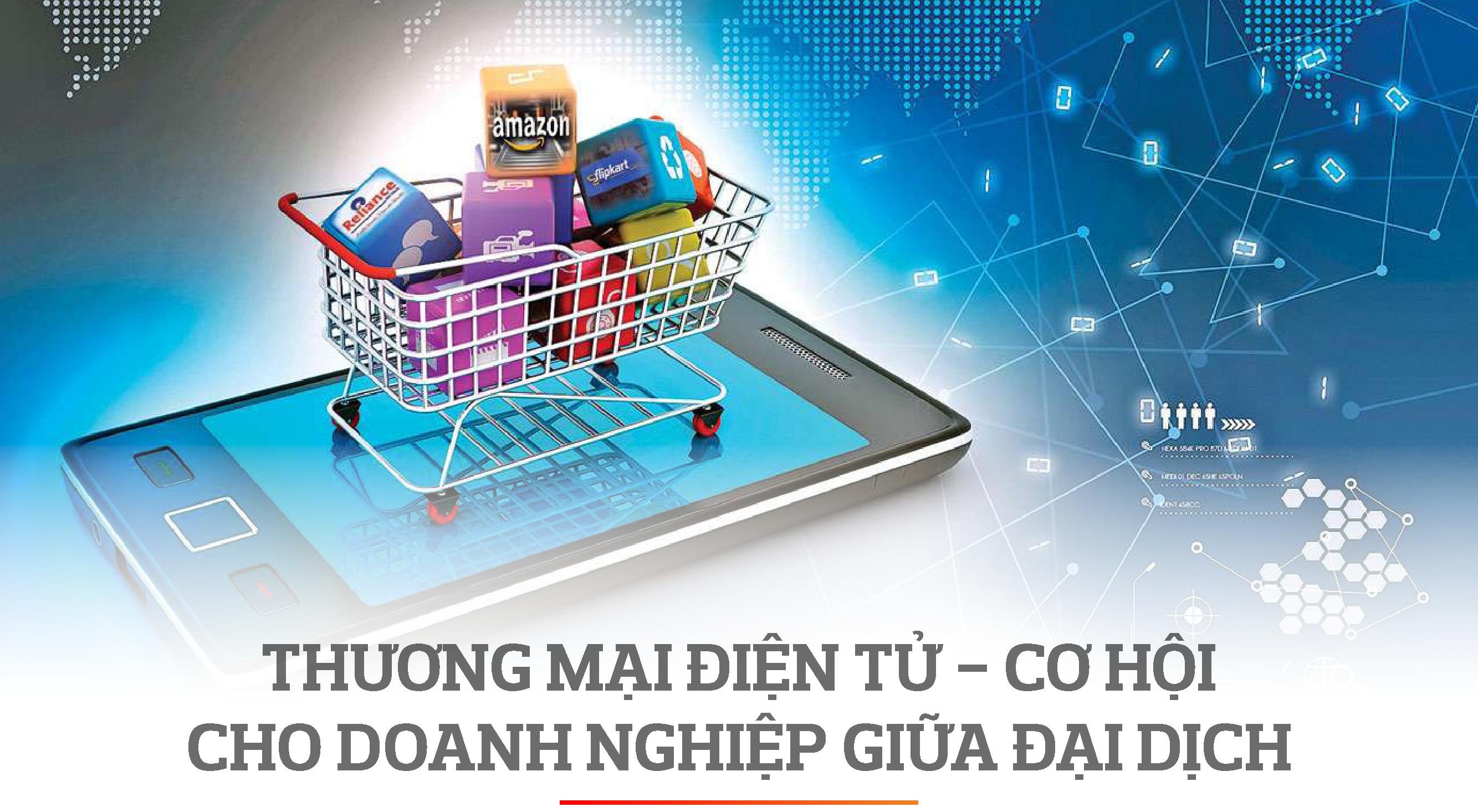 Vượt dịch COVID-19, ngân hàng hỗ trợ doanh nghiệp phát triển thương mại điện tử