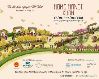 Đường hoa Home Hanoi Xuan 2021 sắp xuất hiện tạiHà Nội