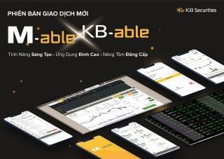 KBSV ra mắt ứng dụng giao dịch trên điện thoại M-Able