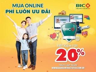 Tiết kiệm tới 20% khi mua bảo hiểm trực tuyến