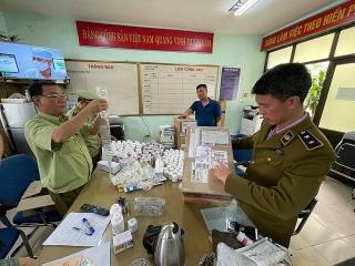 Phát hiện lô dược phẩm Hàn Quốc không hóa đơn, chứng từ đi ra từ kho Cảng hàng không Nội Bài