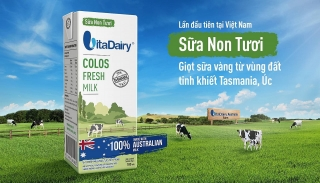 VitaDairy sở hữu sản phẩm sữa non tươi đầu tiên tại Việt Nam