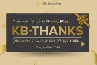KBSV ra mắt bộ đôi chương trình khuyến mãi KB-Joy & KB-Thanks