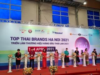 Triển lãm Thương hiệu hàng đầu Thái Lan 2021 thu hút 90 gian hàng