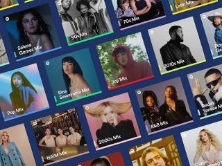 Spotify ra mắt Spotify Mixes mới: Danh sách phát nhạc cá nhân hóa