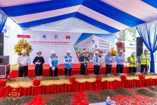 Xây trường Đinh Thiện Lý cơ sở 1 trong khu thương mại tài chính quốc tế Phú Mỹ Hưng