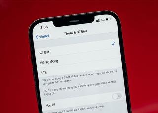 iPhone 12 đã dùng được 5G tại Việt Nam