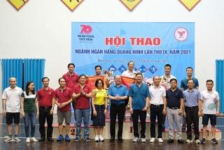Hội thao ngành Ngân hàng Quảng Ninh lần thứ IX năm 2021 thành công tốt đẹp