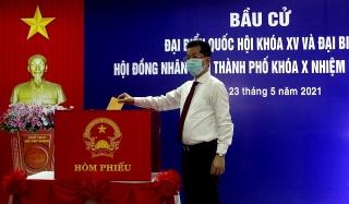 Đà Nẵng: Công tác bầu cử diễn ra thuận lợi, an toàn