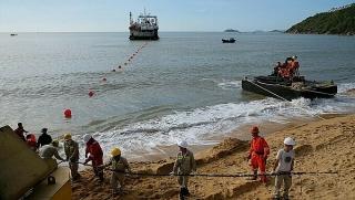 Việt Nam thêm tuyến cáp quang biển