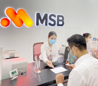 MSB công bố kết quả kinh doanh 6 tháng