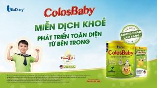 Colosbaby Gold giúp tăng cường miễn dịch, giảm tỷ lệ nhiễm khuẩn hô hấp