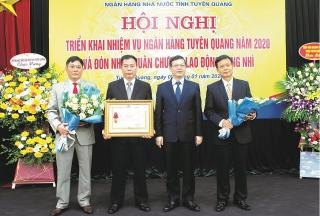 NHNN Chi nhánh tỉnh Tuyên Quang: Thành quả đạt được từ những phong trào thi đua thiết thực