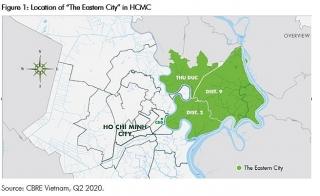 Thành phố phía Đông sẽ thúc đẩy thị trường bất động sản khu vực TP. Hồ Chí Minh