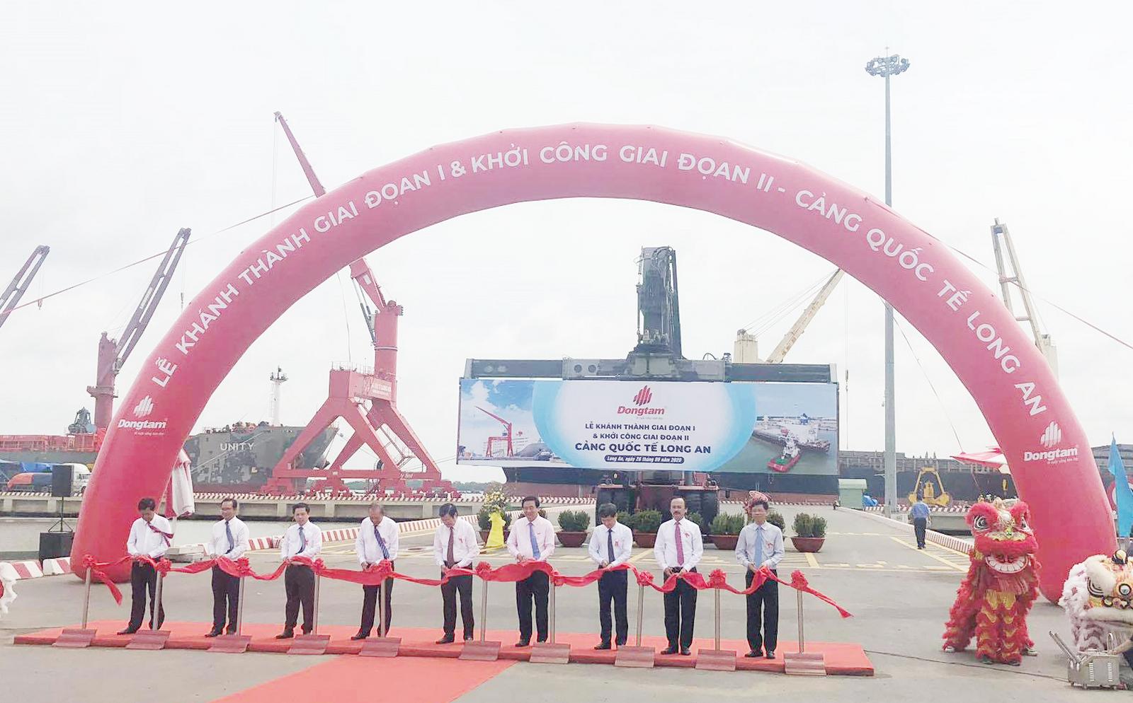 DTG: Khởi công Cảng quốc tế Long An giai đoạn 2