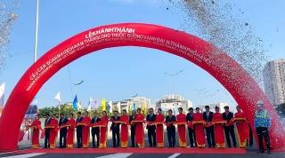 Khánh thành cầu cạn đoạn Mai Dịch - Nam Thăng Long