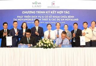 Phát triển dịch vụ, cơ sở y tế đẳng cấp tại NovaWorld Phan Thiet