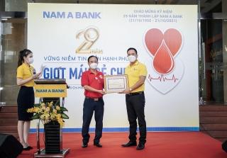 """Chương trình """"29 năm - giọt máu sẻ chia""""tiếp nhận gần 330 đơn vị máu"""
