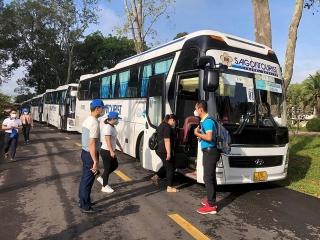 Lữ hành Saigontourist mở tour liên tuyến đầu tiên Củ Chi – Tây Ninh
