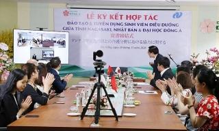 Đại học Đông Á tiếp tục cung ứng nhân lực cho Nhật Bản