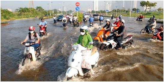 Phát triển khu đô thị Thủ Thiêm cần tính đến biến đổi khí hậu