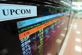 UPCoM tháng Năm: Giá trị giao dịch tăng 12,73