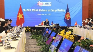 Khai mạc Hội nghị Bộ trưởng Năng lượng ASEAN lần thứ 38