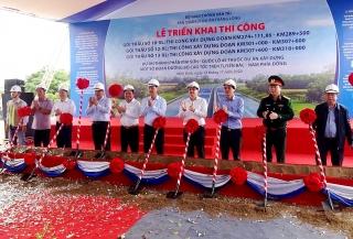Đồng loạt triển khai 3 gói thầu cao tốc Bắc - Nam, đoạn Mai Sơn - QL 45