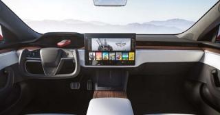 Ngắm nội thất Tesla Model S vừa ra mắt