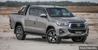 Toyota Hilux mới với động cơ 2.8L sắp được ra mắt