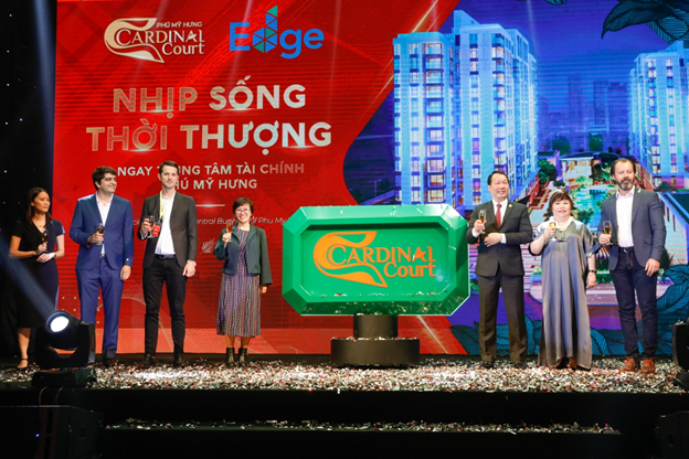 Phú Mỹ Hưng ra mắt dự án cao cấp Cardinal Court đạt chứng chỉ quốc tế EDGE