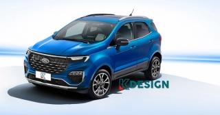 Ford EcoSport mới có gì?