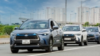 Những điểm ấn tượng trên Toyota Corolla Cross