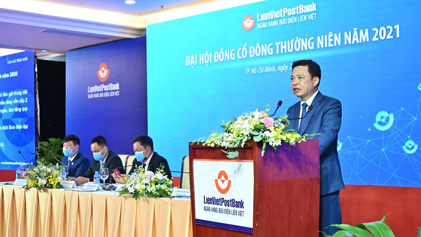LienVietPostBank dự kiến tăng vốn điều lệ lên 15.700 tỷ đồng