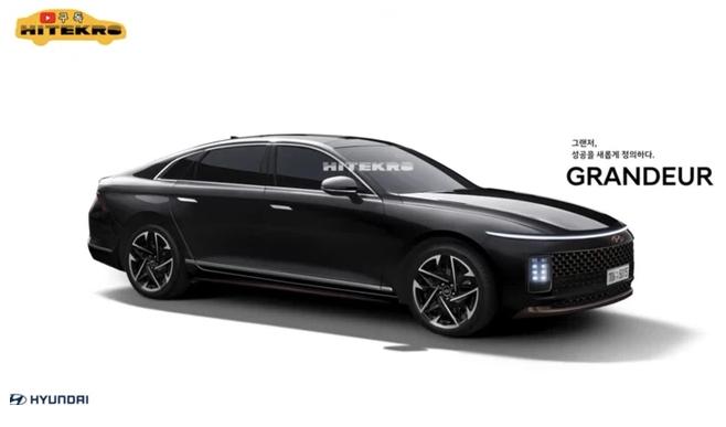 Xem trước Hyundai Grandeur đời mới
