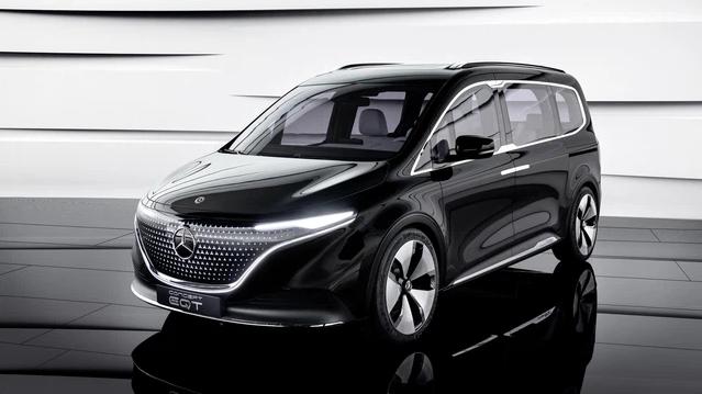 Ra mắt Mercedes-Benz EQT